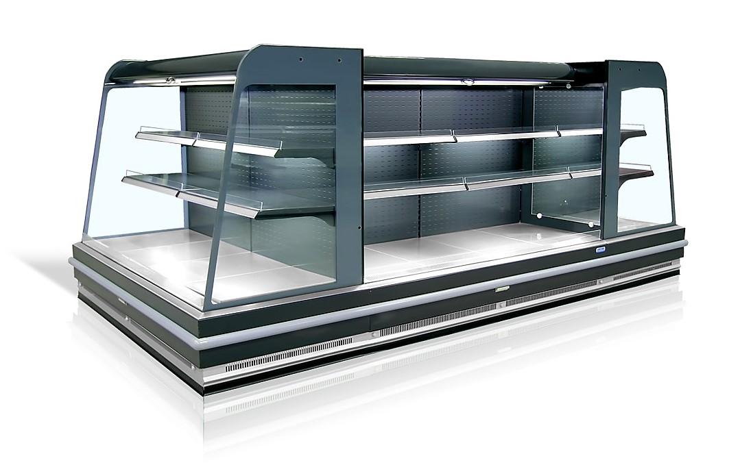 Alacsony fali hűtő telepített aggregáttal