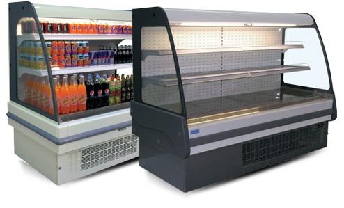 Alacsony fali hűtő beépített aggregáttal