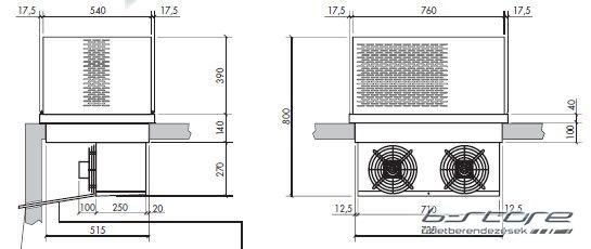 SFN-120 + Tetőblokk