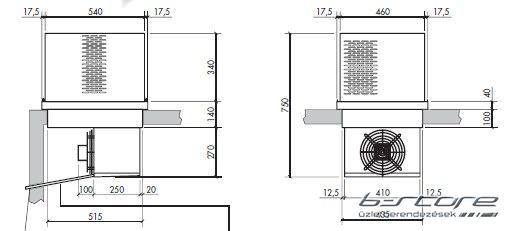 SFK-120 - Tetőblokk