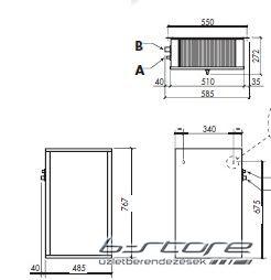 CSN-050 + Split hűtőegység