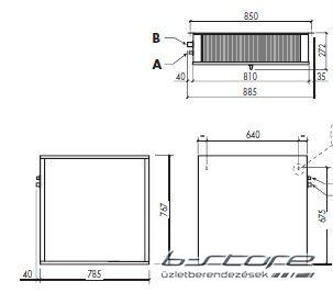 CSN-120 + Split hűtőegység