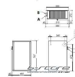 CSK-120 - Split hűtőegység