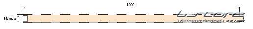Szendvicspanel ISOBOX 1000