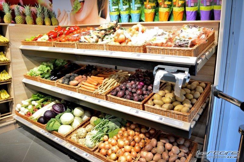 Alacsony zöldség állvány GSZ