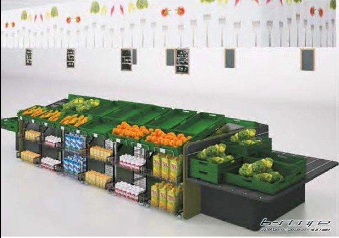 Zöldséges állvány BSCS