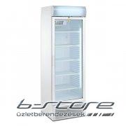 Üvegajtós mirelit hűtő TFGCN 145