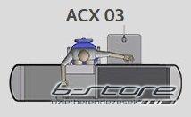ACX03-265 pénztárpult